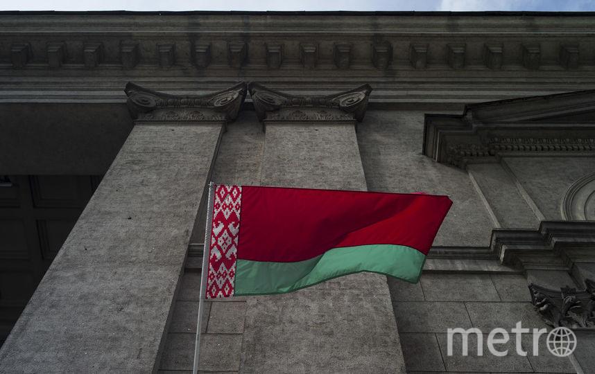 Флаг Белоруссии. Фото Getty