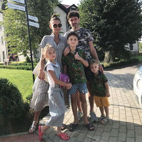 Семья Жирковых. Фото www.instagram.com/innazhirkova