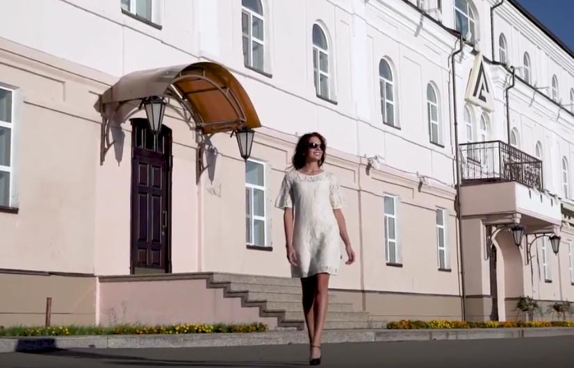 Евгения Громовик, Томск. Фото Все - скриншот YouTube