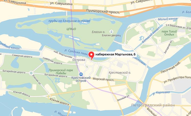 В Петербурге задержан мужчина, который стрелял в прохожих. Фото Скриншот Яндекс. Карты.