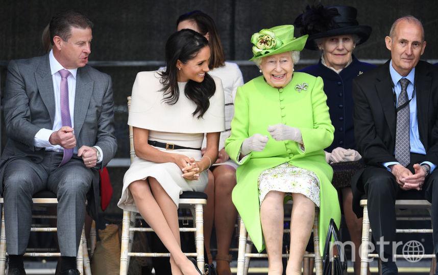 Королева Елизавета Вторая и Меган Маркл, фотоархив. Фото Getty