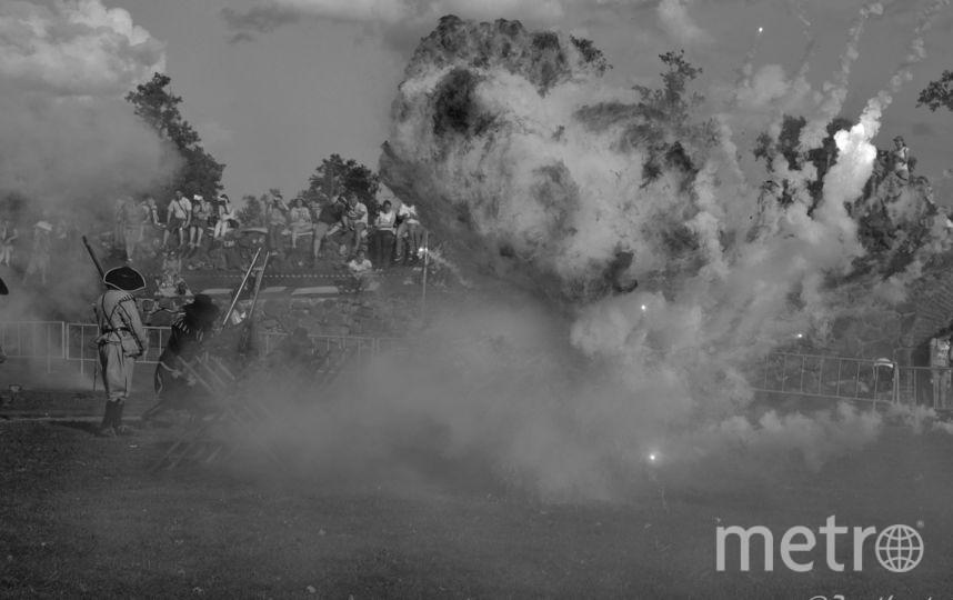 """Военно-исторический фестиваль """"Карельские рубежи"""". Фото Зоя Авдеева."""