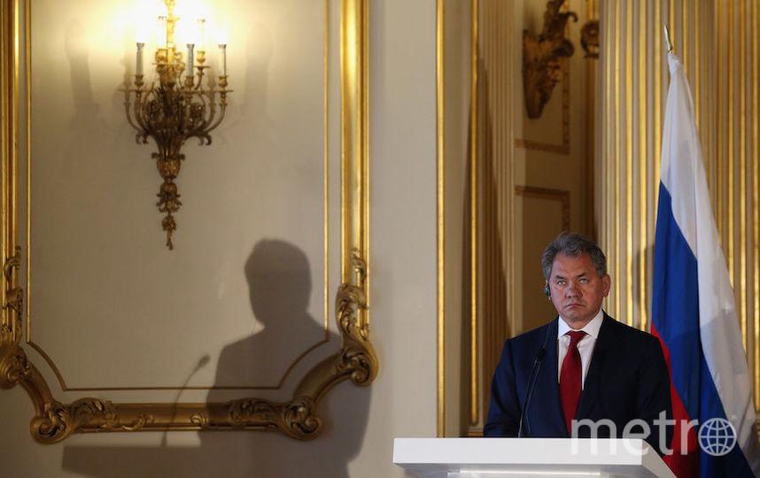 Министр обороны России Сергей Шойгу. Фото Getty