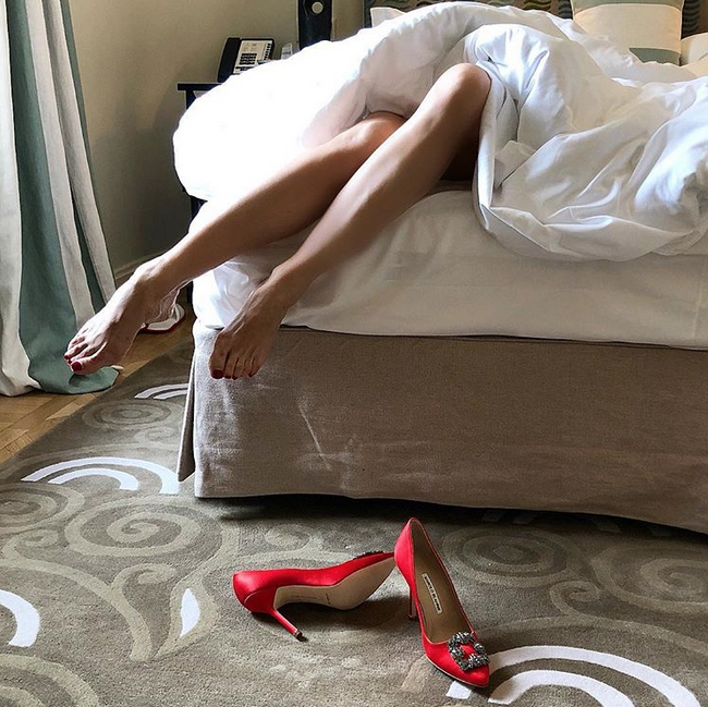 Елена Летучая. Фото Скриншот Instagram: @elenapegas