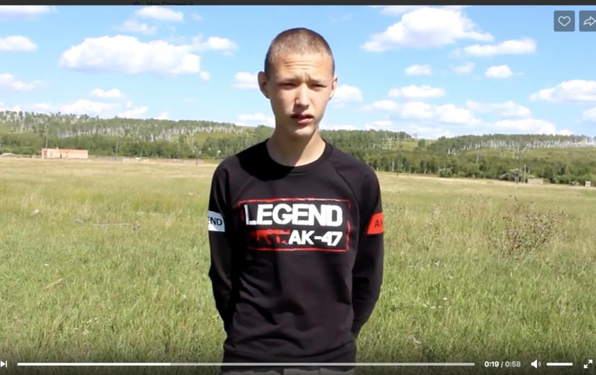 16-летний Александр Дубровин за свой поступок получит награду от местной полиции. Фото скриншот видео www.38.мвд.рф