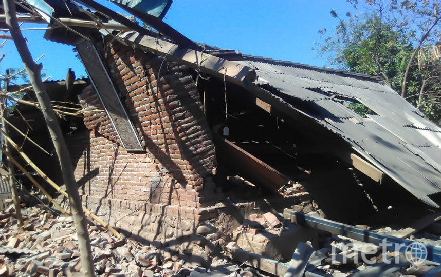 Сильные землетрясения потрясли Индонезию. Фото AFP