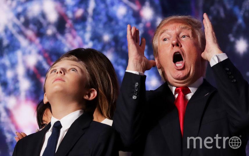 Бэррон Трамп. Фото Getty
