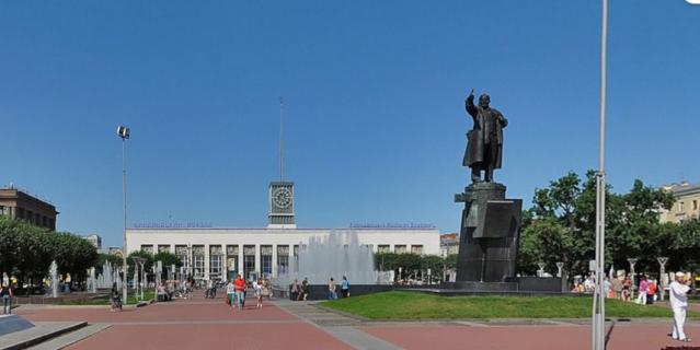 Фонтан на пл.Ленина.