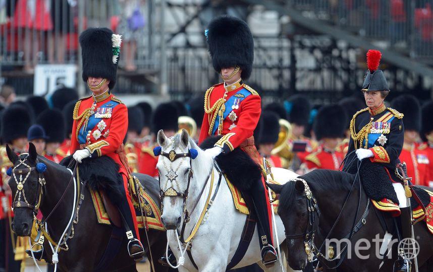 Принц Чарльз, принц Уильям и принцесса Анна. Фото Getty