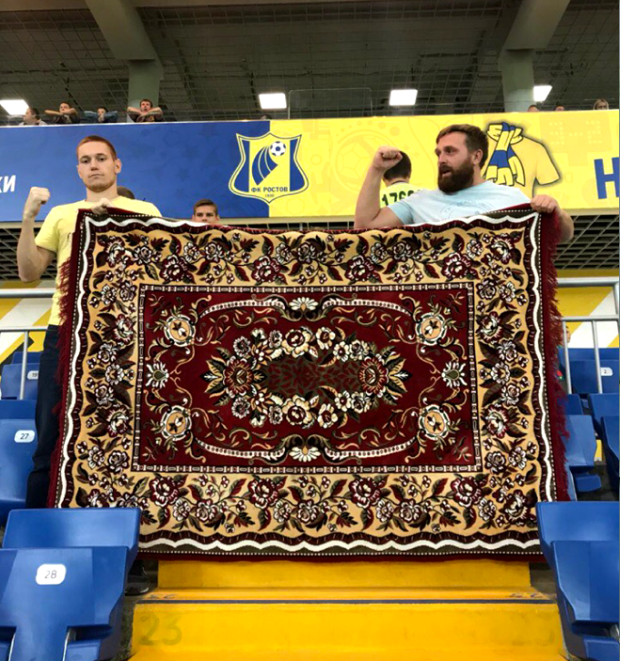 «Ковёр принёс 4:0», – написал Александр (справа) на странице в Instagram. Фото instagram | @aleksandr_fcrr