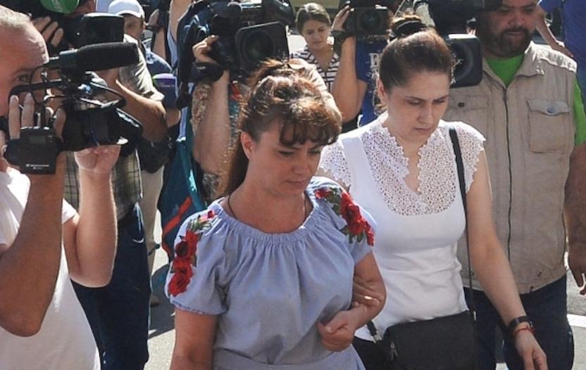Мать сестер Хачатурян, фотоархив. Фото РИА Новости