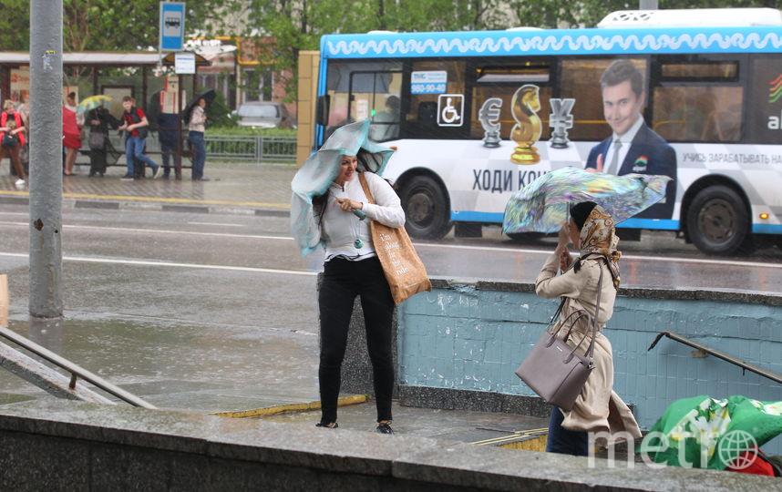 Гроза, град и ветер до 20 м/с ожидают Москву. Фото Василий Кузьмичёнок