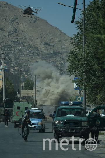 Обстрел Кабула. Фото AFP