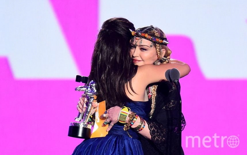 Мадонна и Камила Кабелло. Фото Getty