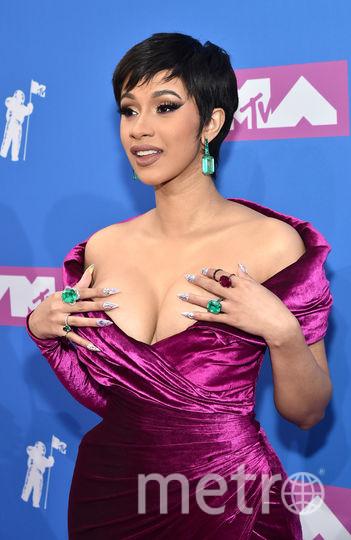 Cardi B на MTV Video Music Awards. Фото Getty