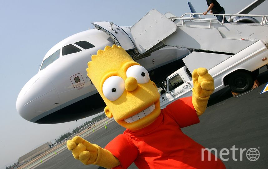 Барт Симпсон. Фото Getty