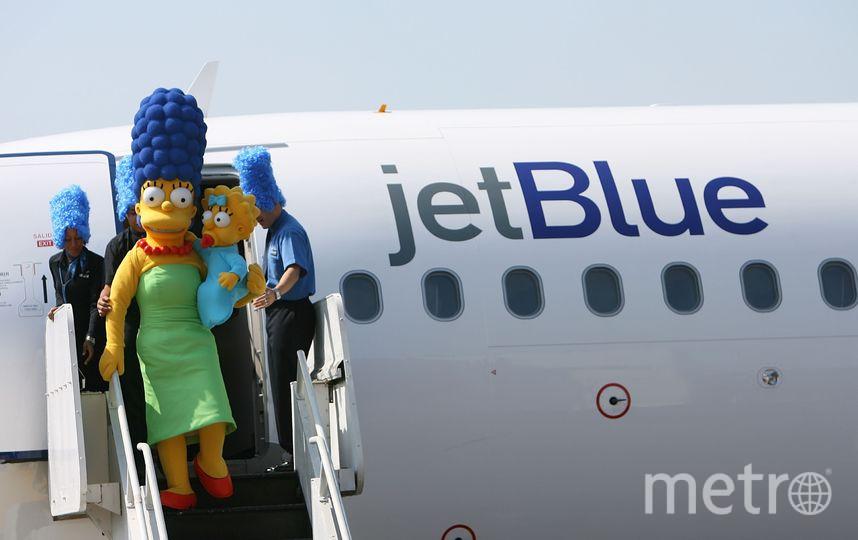 Мардж и Мэгги Симпсон. Фото Getty