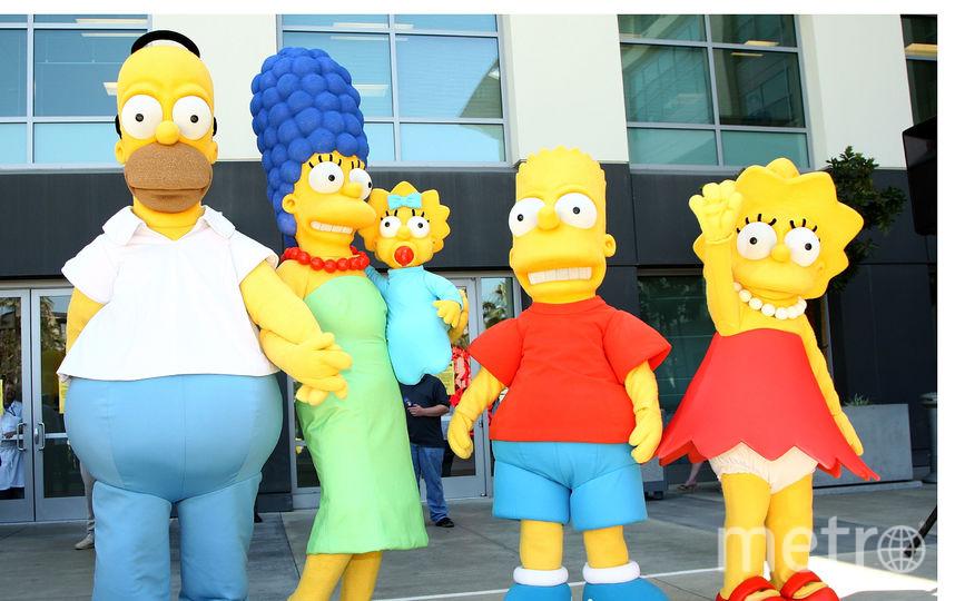 """Герои мультсериала """"Симпсоны"""". Фото Getty"""
