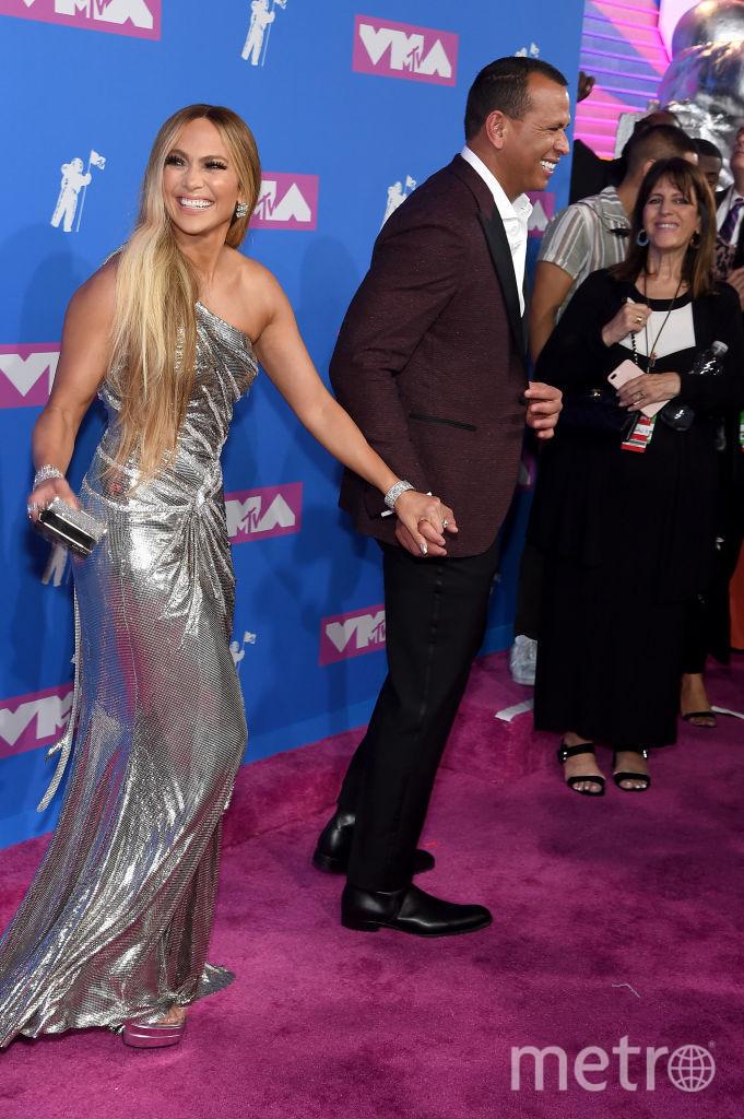 Дженнифер Лопес на MTV Video Music Awards. Фото Getty
