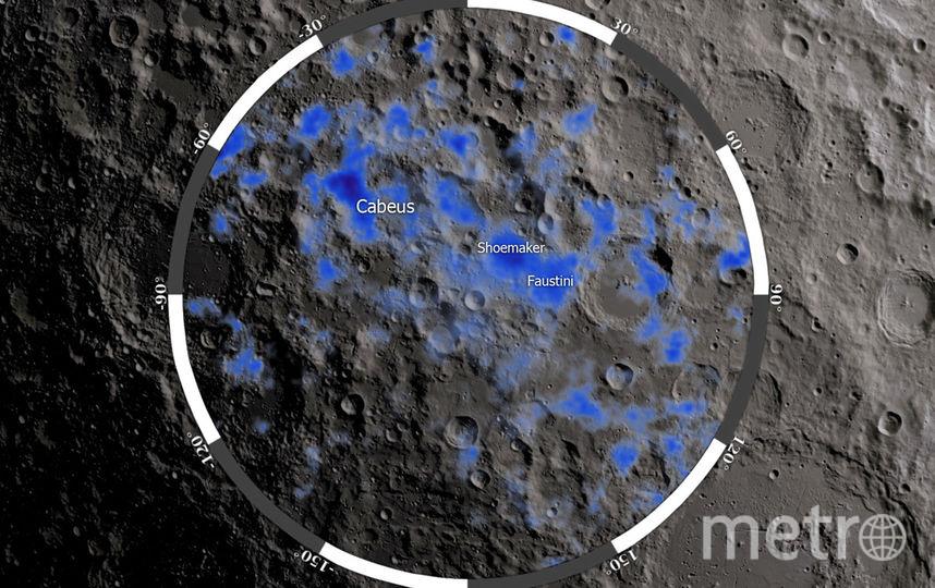 На поверхности Луны нашли лёд. Фото Предоставлено организаторами