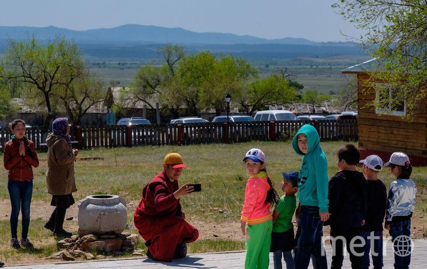 """Буддийская мантра привела в монастырь. Фото Алена Бобрович, """"Metro"""""""