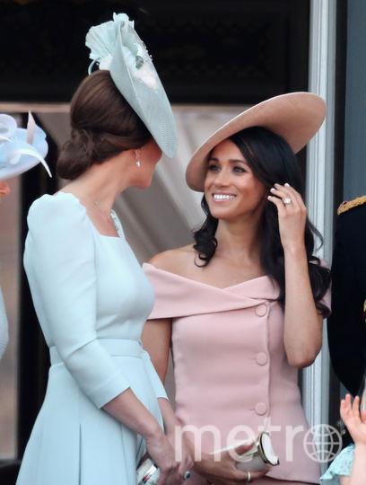 Меган Маркл и Кейт Миддлтон (герцогиня Кембриджская). Фото Getty