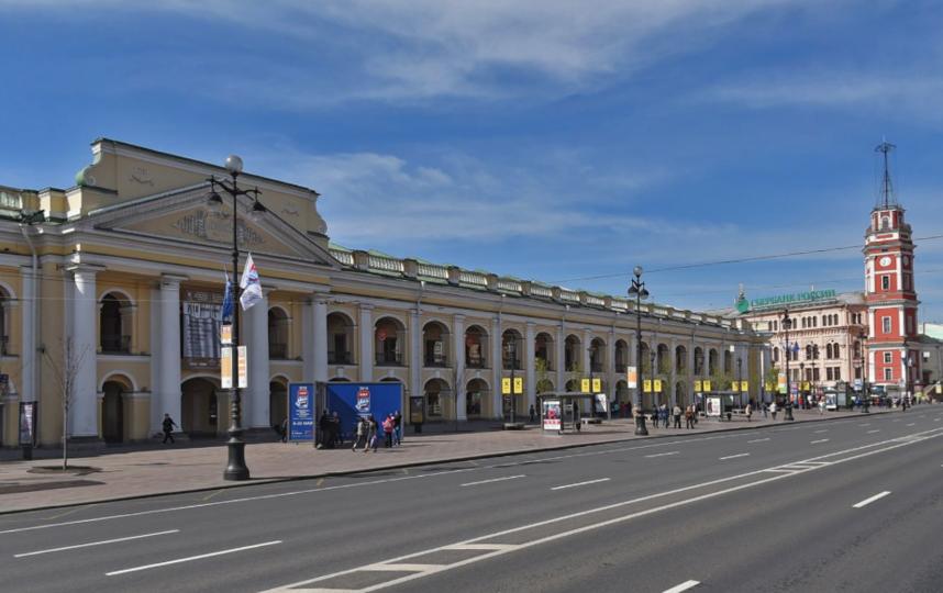 Гостиный двор. Фото скриншот Яндекс.Панорамы.