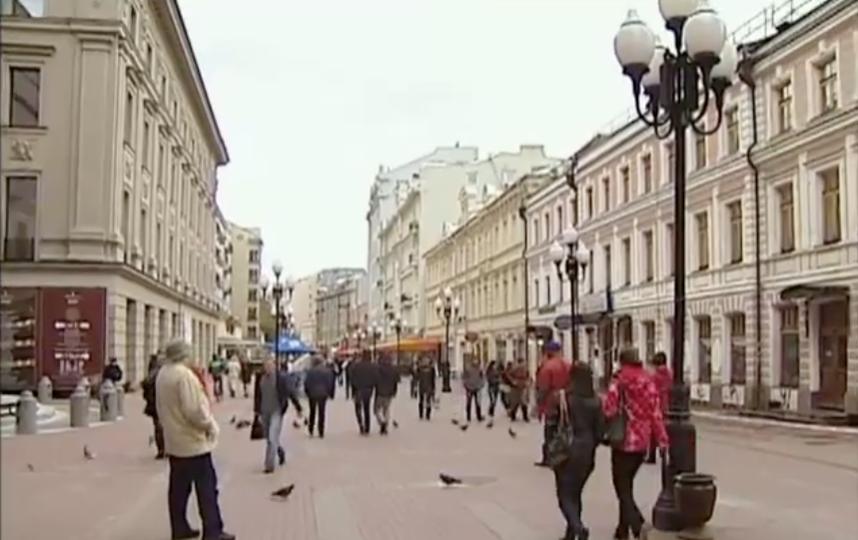 Урбанист выдвинул предложения по изменению Старого Арбата. Фото Скриншот видео YouTube с канала TV Center.