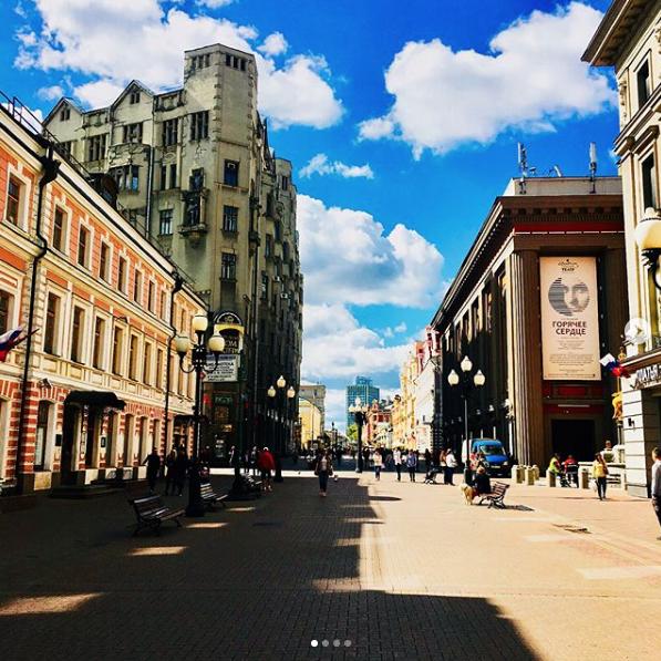 Урбанист выдвинул предложения по изменению Старого Арбата. Фото Скриншот Instagram @anna_kashkovskaya.