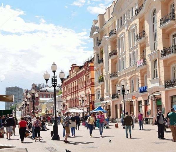 Урбанист выдвинул предложения по изменению Старого Арбата. Фото Скриншот Instagram @yellowtaxi24.ru.