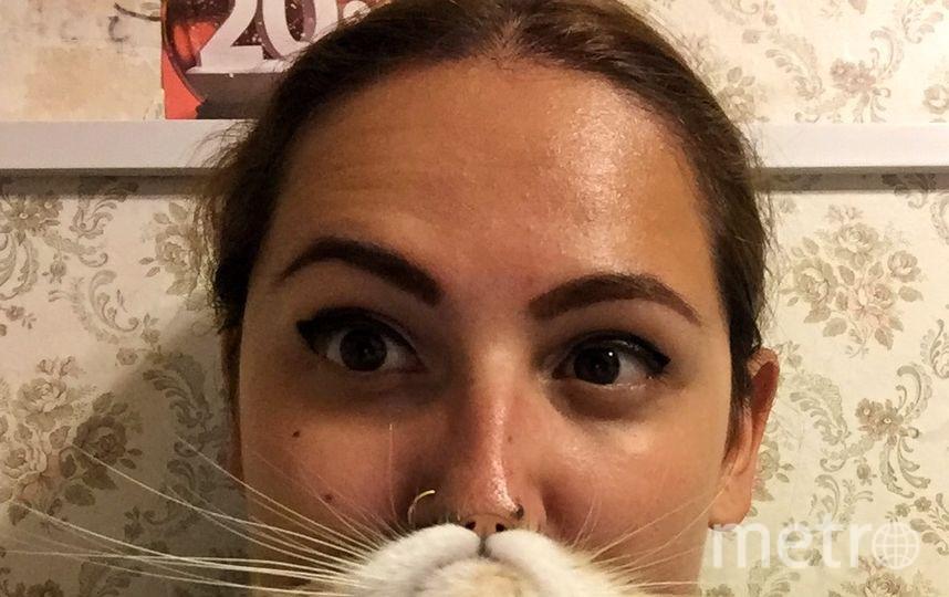 Меня зовут Анна, и у меня есть борода из кота! Точнее из моей кошки Булки. Фото Анна