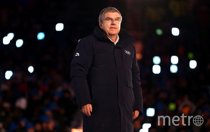 Президент Международного олимпийого комитета (МОК) Томас Бах. Фото Getty