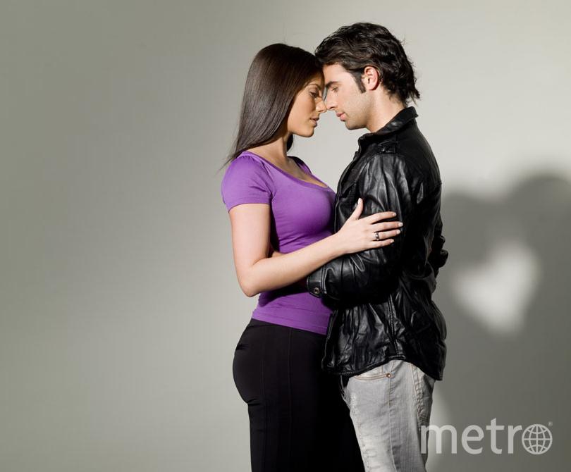 Фото молодой пары.