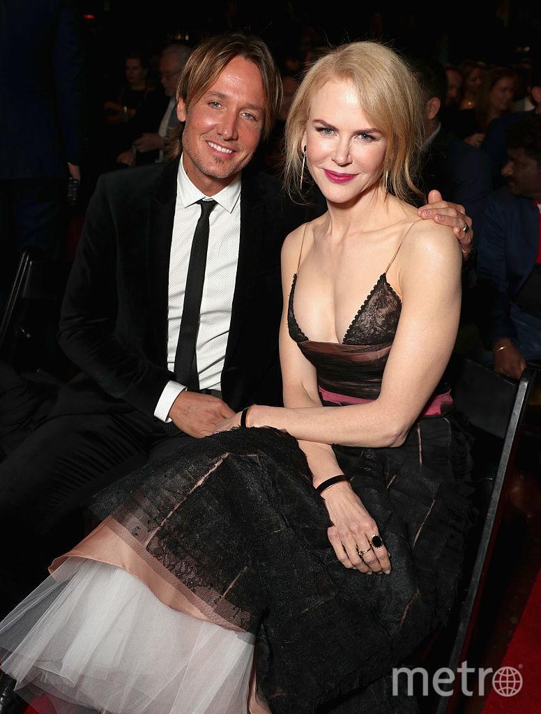 Николь Кидман с мужем Китом Урбаном. Фото Getty