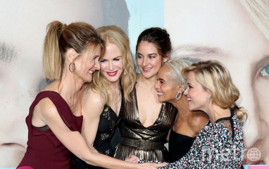 """Николь Кидман и другие актрисы сериала """"Большая маленькая ложь"""". Фото Getty"""