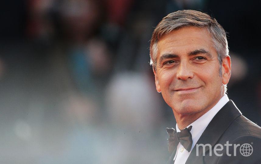 Актёр Джордж Клуни, 1 место. Фото Getty