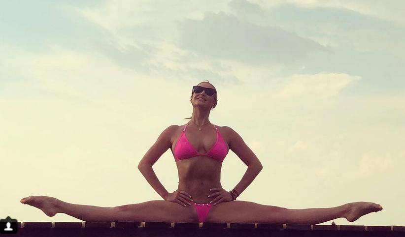 Анастасия Волочкова, фотоархив. Фото скриншот www.instagram.com/volochkova_art/