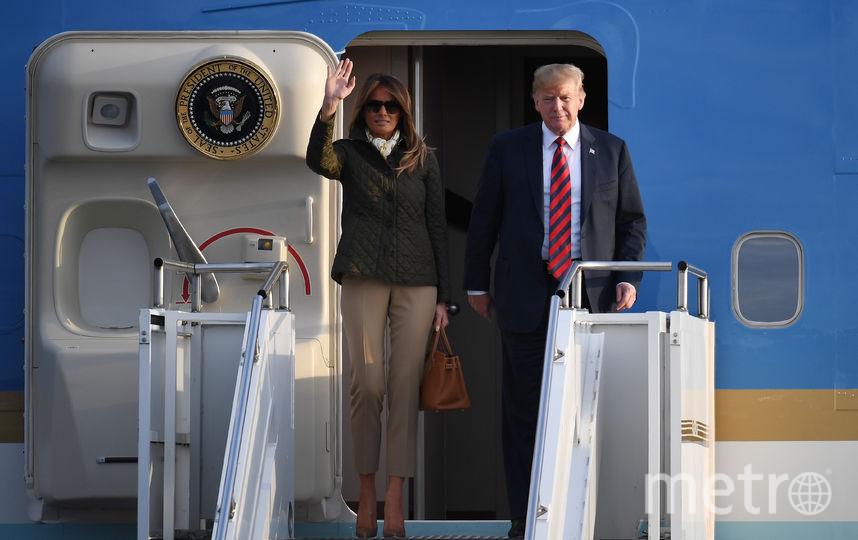 Дональд и Мелания Трамп. Фото Getty