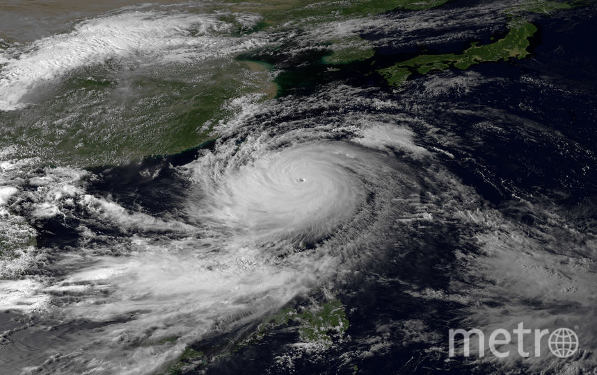 На Японию надвигается Тайфун. Фото Getty