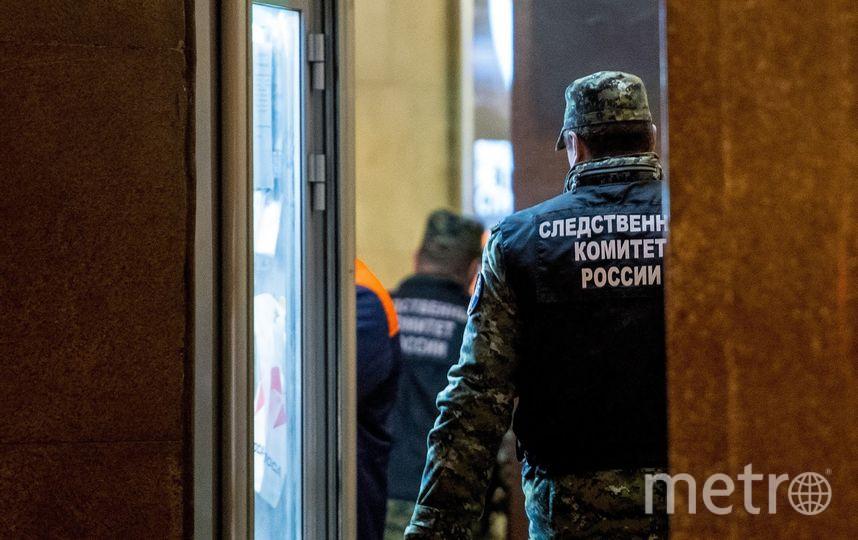 """Станция метро """"Технологический институт"""" вечером после трагедии. Фото Архивное фото, """"Metro"""""""
