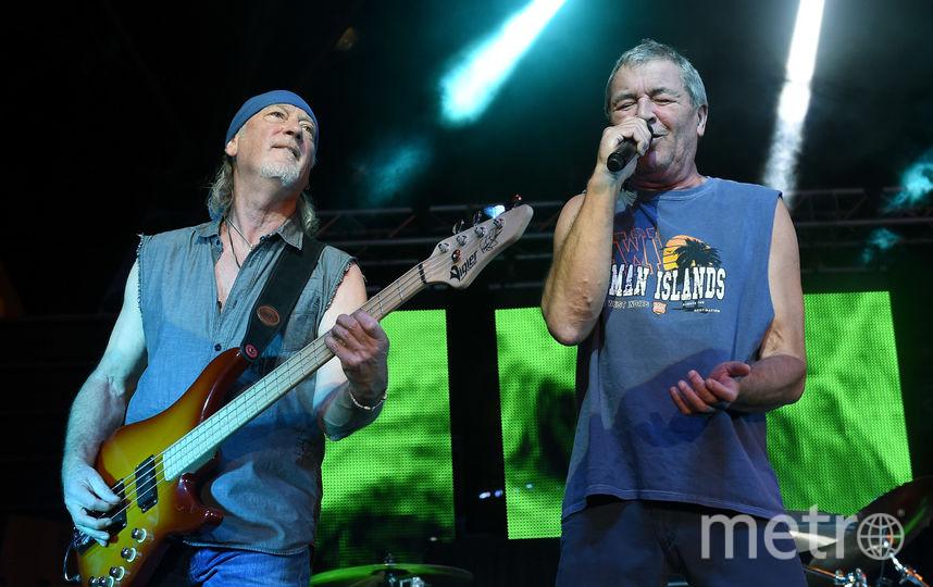 Deep Purple отправились в прощальный тур, их сопровождает журналист Эдди Транк. Фото Getty