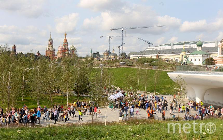 """Столичный парк """"Зарядье"""". Фото Василий Кузьмичёнок"""