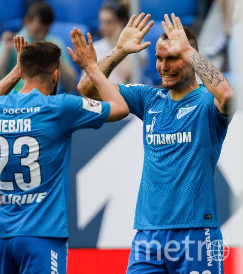 Заболотный второй раз отличился в составе петербургского клуба. Фото Getty