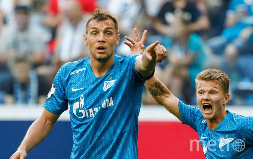 """Дзюба отметился первым голом """"Зенита"""" в матче. Фото Getty"""