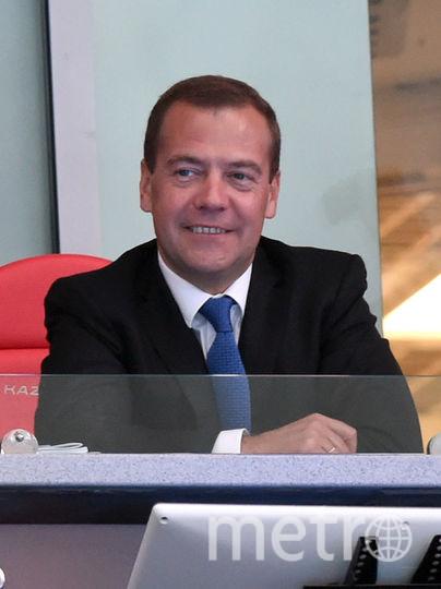 Дмитрий Медведев получил травму. Фото Getty