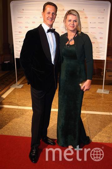 Михаэль ШУмахер с женой Коринной. Фото Getty
