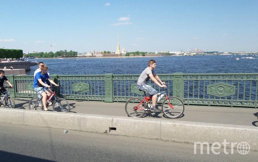 """Велопробег. Фото """"Metro"""""""