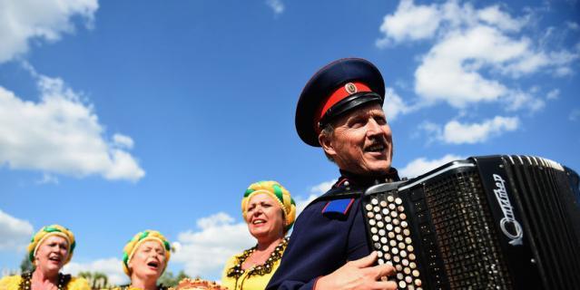 Фестиваль казачьей культуры.