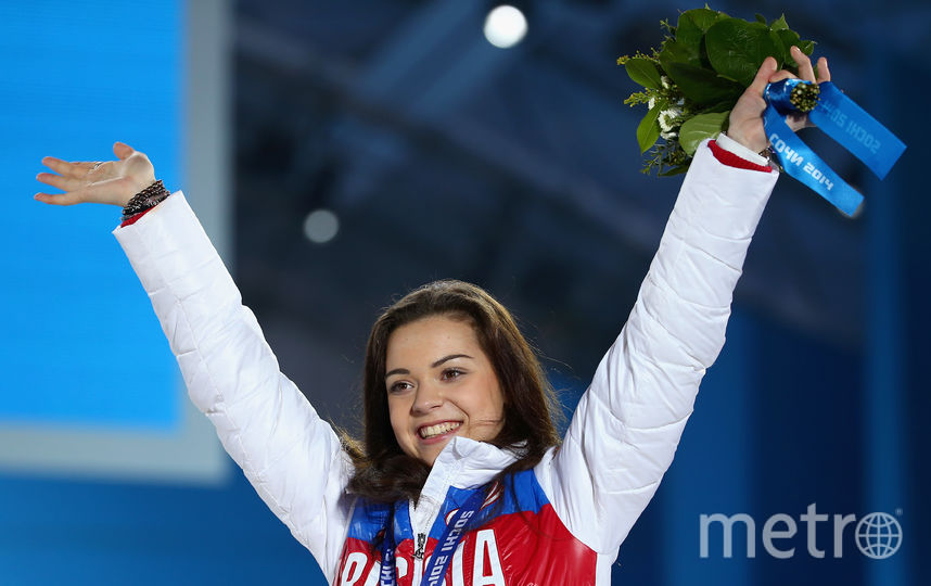 Российская фигуристка Аделина Сотникова. Фото Getty