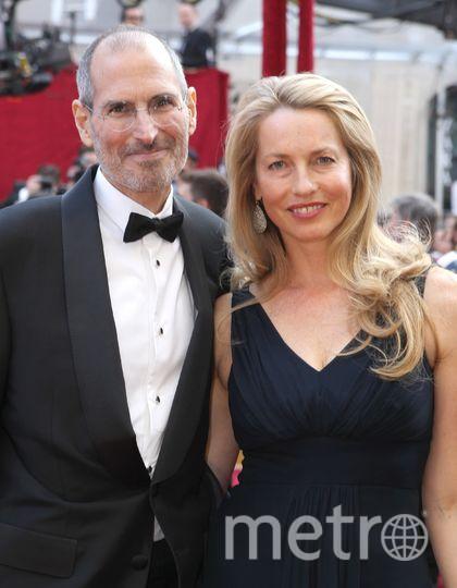 Стив Джобс с женой Лорен Пауэлл-Джобс. Фото Getty